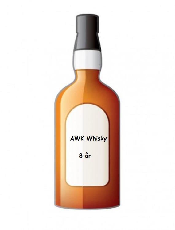 AWK whiskyflaska